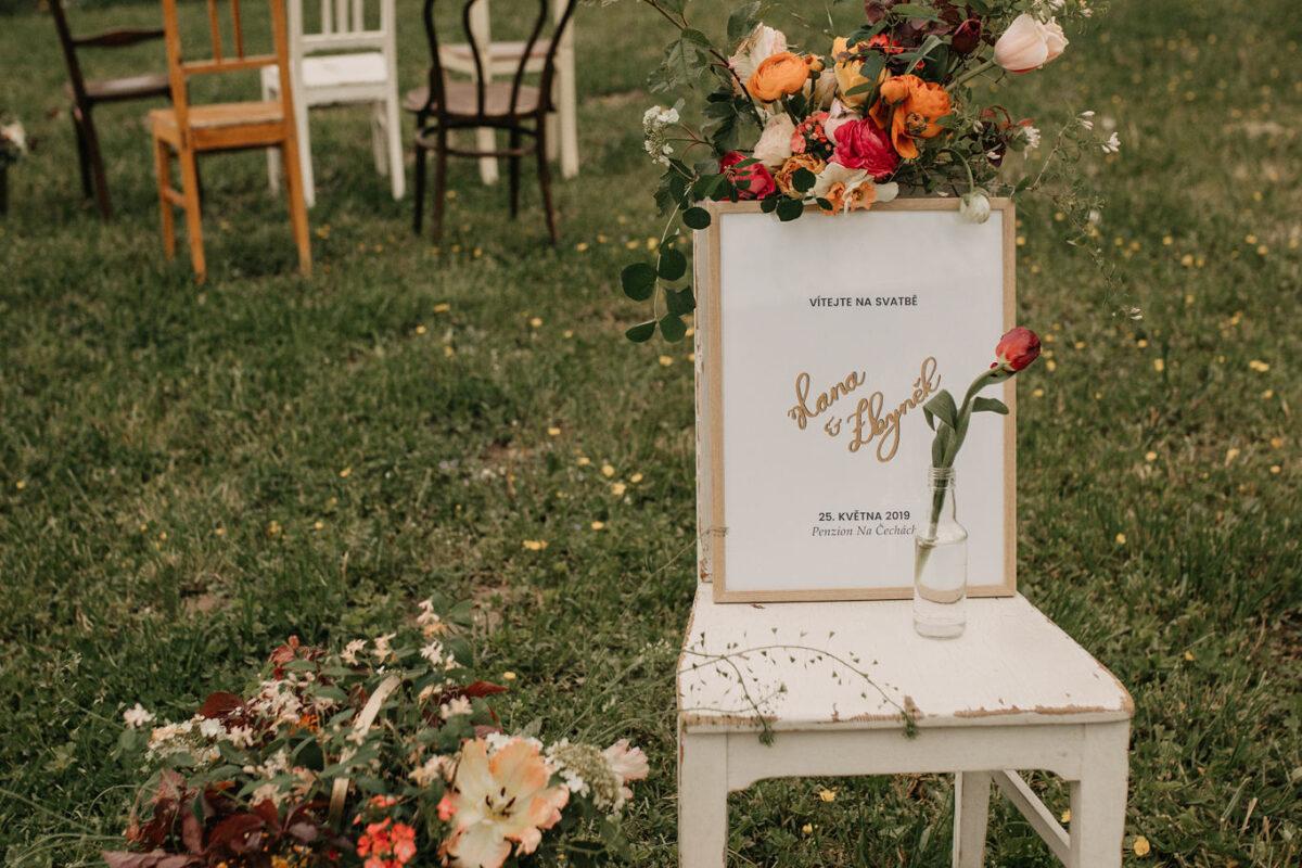 5 neotřelých nápadů na svatební dekorace